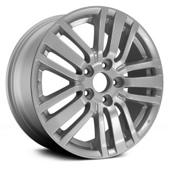 "Replace® - 17"" Remanufactured 5 Triple Spokes All Painted Bluish Silver Factory Alloy Wheel"