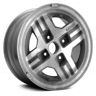 Replace® - 13x5.5 4-Spoke Medium Sparkle Charcoal Alloy Factory Wheel (Remanufactured)