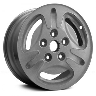 "Replace® - 14"" Remanufactured 3 Spokes Sparkle Silver Factory Alloy Wheel"