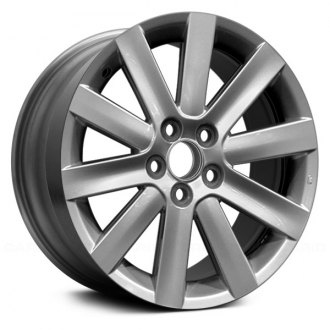 mazda 3 replacement factory wheels rims carid Mazda Vector 3 Concept replace 18x7 10 spoke silver alloy factory wheel remanufactured