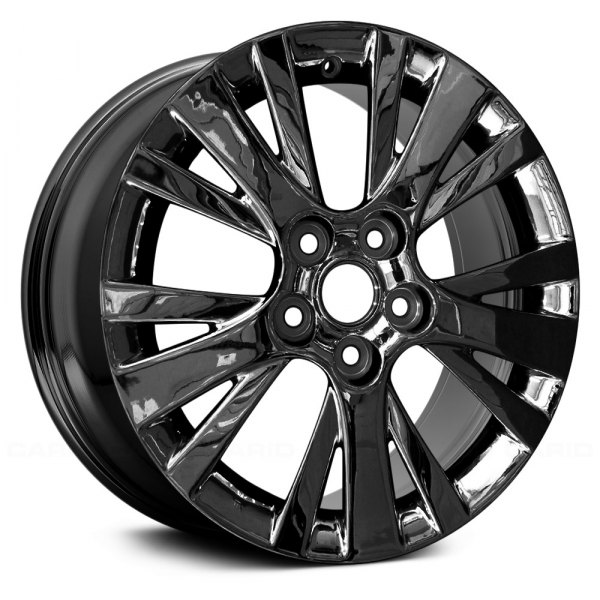 "Replace® - 17"" Remanufactured 15 Spokes Dark PVD Chrome Factory Alloy Wheel"