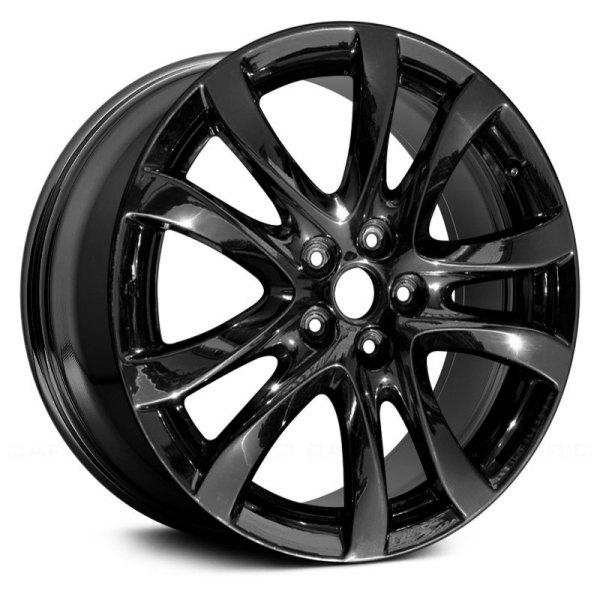 replace mazda 6 2015 19x7 5 10 spoke alloy factory wheel. Black Bedroom Furniture Sets. Home Design Ideas