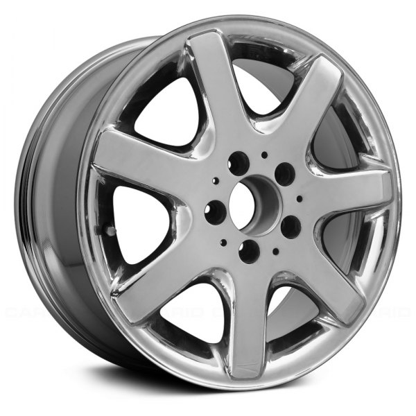 "Replace® - 16"" Remanufactured Rear 7 Spokes Chrome Factory Alloy Wheel"