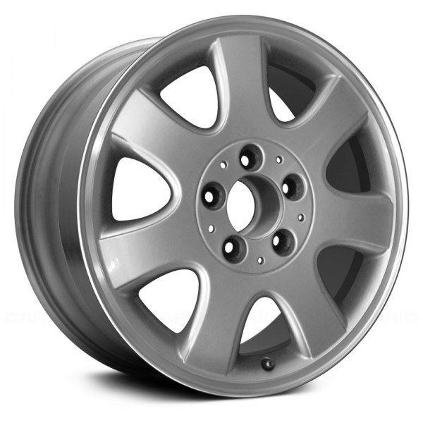 "Replace® - 16"" Remanufactured 7 Spokes Silver with Flange Cut Factory Alloy Wheel"