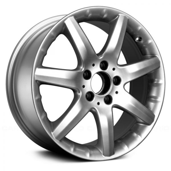 "Replace® - 17"" Remanufactured Front 7 Spokes Hyper Silver Factory Alloy Wheel"