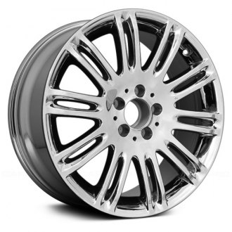 "Replace® - 18"" Remanufactured 10 Double Spokes Chrome Factory Alloy Wheel"