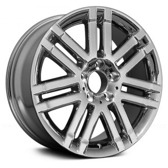 "Replace® - 17"" Remanufactured 7 Double Spokes Chrome Factory Alloy Wheel"