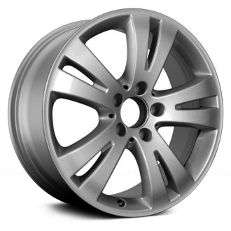 "Replace® - 17"" 5 V Spokes All Painted Silver Factory Alloy Wheel"