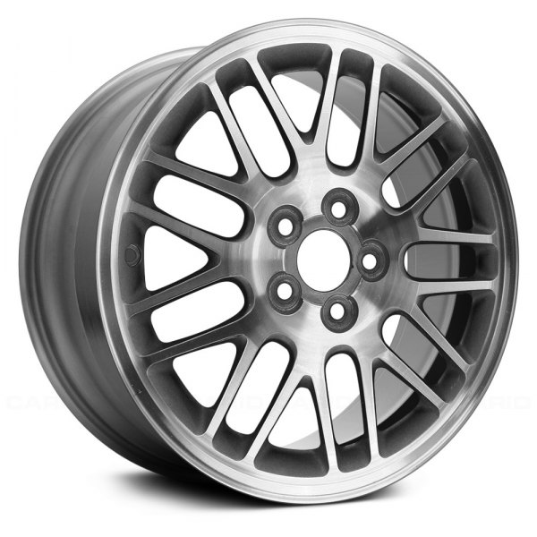 "Replace® - 16"" Remanufactured 18 Spokes Silver Factory Alloy Wheel"