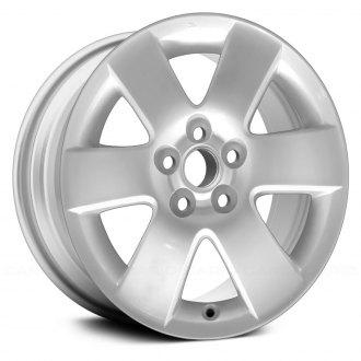 2004 toyota matrix replacement factory wheels rims carid replace 15 6 spokes silver factory alloy wheel publicscrutiny Gallery