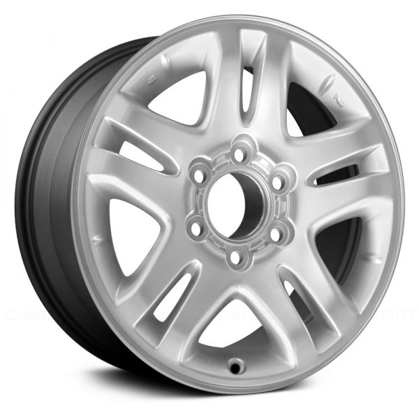 "Replace® - 17"" Remanufactured 5 Double Spokes Charcoal Gray Factory Alloy Wheel"