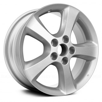 "Replace® - 17"" 5 Spokes Silver Factory Alloy Wheel"