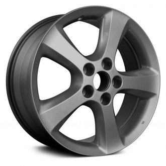 "Replace® - 17"" Remanufactured 5 Spokes Medium Charcoal Factory Alloy Wheel"