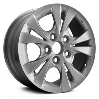 2005 toyota camry replacement factory wheels rims carid Sensores De Autos Toyota Camry replace 15x6 5 10 spoke silver alloy factory wheel remanufactured