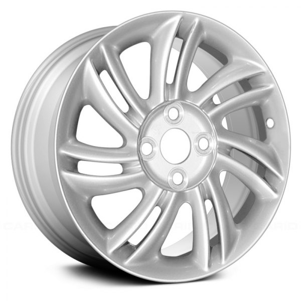 "Replace® - 15"" Remanufactured 14 Spokes Silver Factory Alloy Wheel"