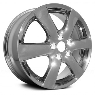 "Replace® - 17"" Remanufactured 6 Spokes Light PVD Chrome Factory Alloy Wheel"