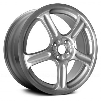 2004 scion xb replacement factory wheels rims carid 2015 Scion xB Wheels replace 18x7 5 5 spoke bright silver spokes with cut flange alloy