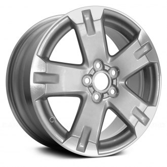 "Replace® - 18"" Remanufactured 5 Spokes Machined and Bright Sparkle Silver Factory Alloy Wheel"