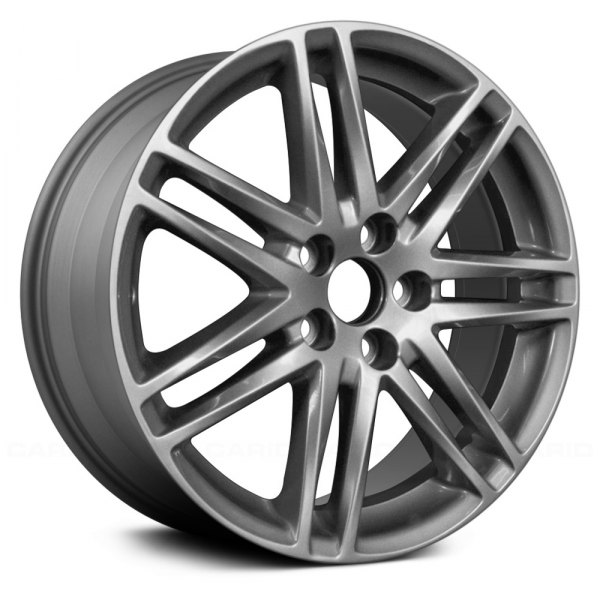 "Replace® - 18"" Remanufactured 14 Spokes Medium Charcoal Full Face Factory Alloy Wheel"