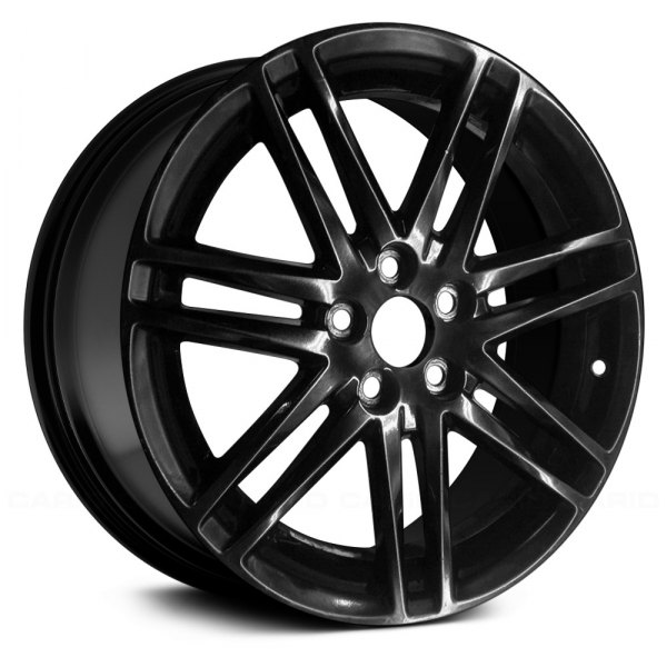 "Replace® - 18"" Remanufactured 14 Spokes Black Factory Alloy Wheel"
