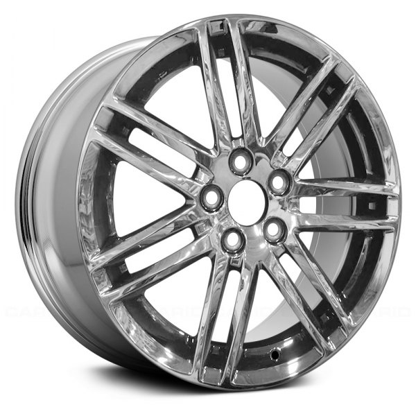 "Replace® - 18"" Remanufactured 14 Spokes Light PVD Chrome Factory Alloy Wheel"