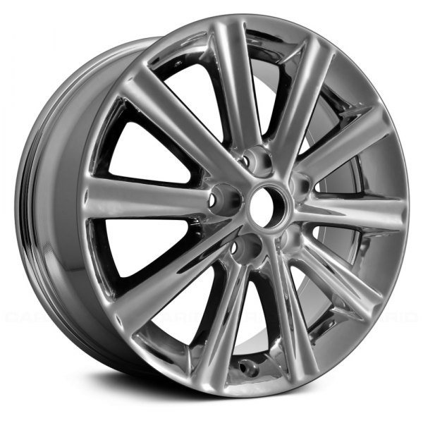 "Replace® - 17"" Remanufactured 10 Spokes Light PVD Chrome Factory Alloy Wheel"
