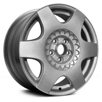 "Replace® - 16"" Remanufactured 6 Spokes All Painted Silver Factory Alloy Wheel"