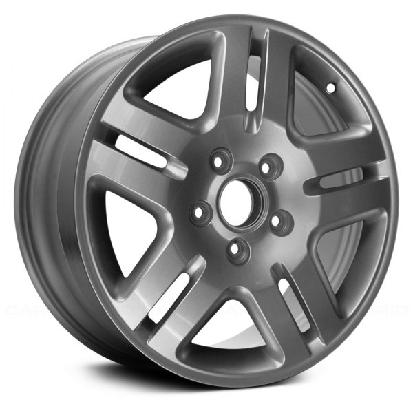 "Replace® - 18"" Remanufactured 5 Split Spokes Chrome Factory Alloy Wheel"
