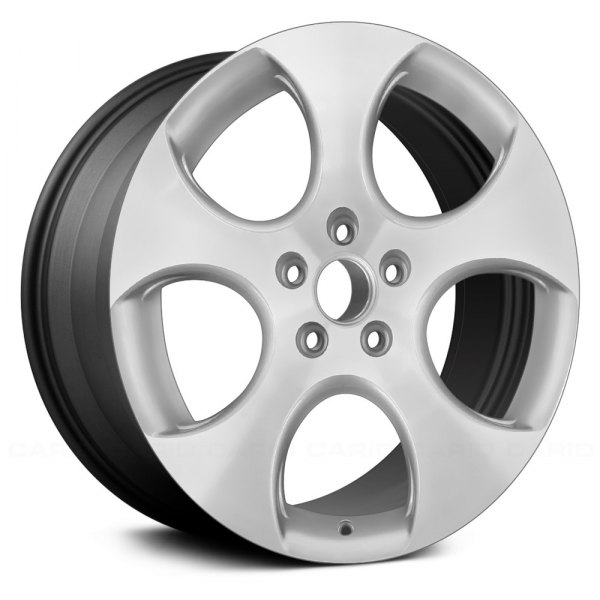 "Replace® - 18"" Remanufactured 5 Spokes Charcoal Gray Factory Alloy Wheel"