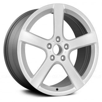 "Replace® - 17"" Remanufactured 5 Spokes Medium Gray Factory Alloy Wheel"