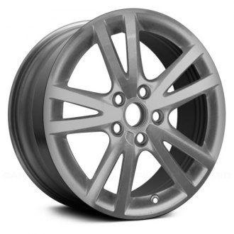 "Replace® - 18"" Remanufactured 5 Double Spokes Silver Factory Alloy Wheel"