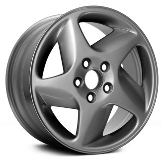 "Replace® - 16"" Remanufactured 5 Spokes All Painted Silver Factory Alloy Wheel"