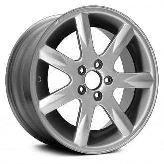 "Replace® - 17"" Remanufactured 7 Spokes Charcoal Silver Factory Alloy Wheel"
