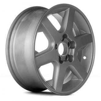 "Replace® - 15"" Remanufactured 6 Spokes Silver Factory Alloy Wheel"