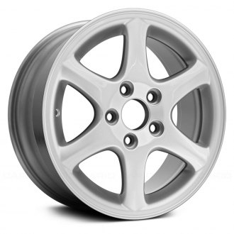 "Replace® - 16"" Remanufactured 6 Spokes Bright Sparkle Silver Factory Alloy Wheel"