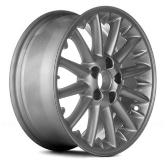 "Replace® - 16"" Remanufactured 12 Spokes Bright Sparkle Silver Factory Alloy Wheel"