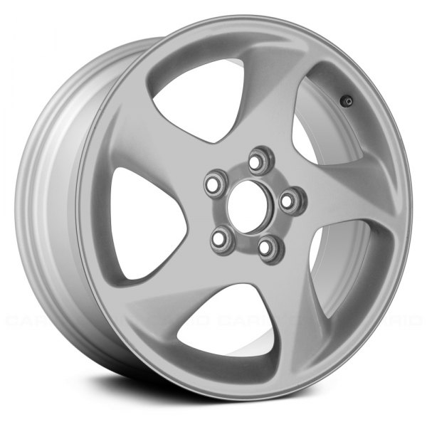 "Replace® - 16"" Remanufactured 5 Swept Spokes All Painted Silver Factory Alloy Wheel"