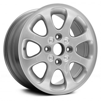 "Replace® - 15"" Remanufactured 8 Spokes Chrome Factory Alloy Wheel"