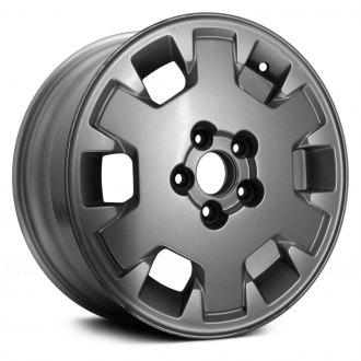 "Replace® - 15"" Remanufactured 6 Holes All Painted Silver Factory Alloy Wheel"