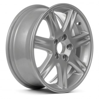 "Replace® - 16"" Remanufactured 7 Spokes Sparkle Silver Acrylic Factory Alloy Wheel"