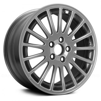 "Replace® - 17"" Remanufactured 17 Spokes Hyper Silver Factory Alloy Wheel"