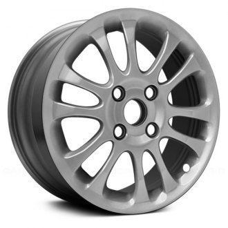 "Replace® - 16"" Remanufactured 12 Spokes Silver Factory Alloy Wheel"