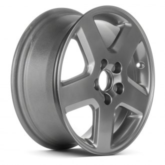 "Replace® - 16"" Remanufactured 5 Spokes Hyper Silver Factory Alloy Wheel"