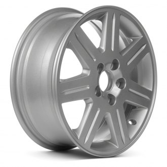 "Replace® - 16"" Remanufactured 7 Spokes All Painted Silver Factory Alloy Wheel"
