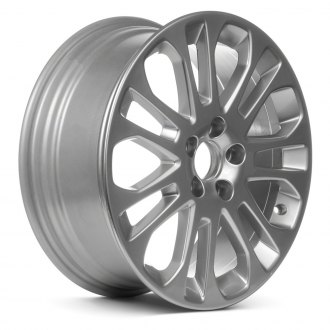 "Replace® - 17"" Remanufactured 14 Spokes All Painted Hyper Silver Factory Alloy Wheel"