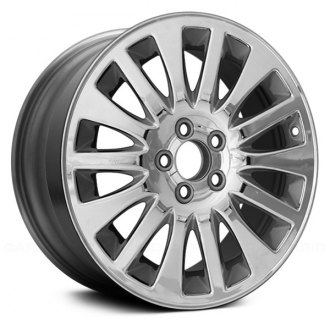 "Replace® - 17"" Remanufactured 14 Spokes Chrome Factory Alloy Wheel"