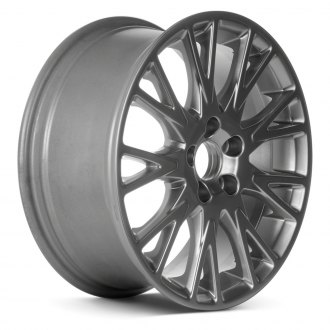 "Replace® - 17"" Remanufactured 9 Split Spokes Hyper Silver Factory Alloy Wheel"