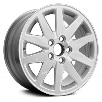 "Replace® - 16"" Remanufactured 10 Spokes All Painted Silver Factory Alloy Wheel"