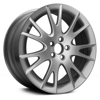 "Replace® - 18"" Remanufactured 7 Split Spokes Hyper Silver Factory Alloy Wheel"