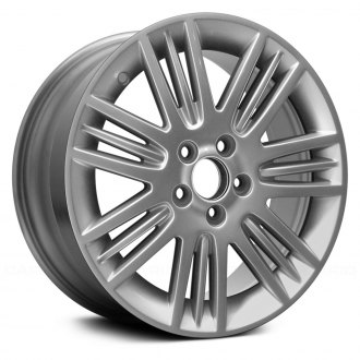 "Replace® - 17"" Remanufactured 7 Triple Spokes All Painted Silver Factory Alloy Wheel"